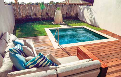 Small Backyard Pools That Are Big Fun Leisure Pools Canada