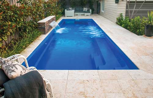 Small backyard pools: Leisure Pools Harmony