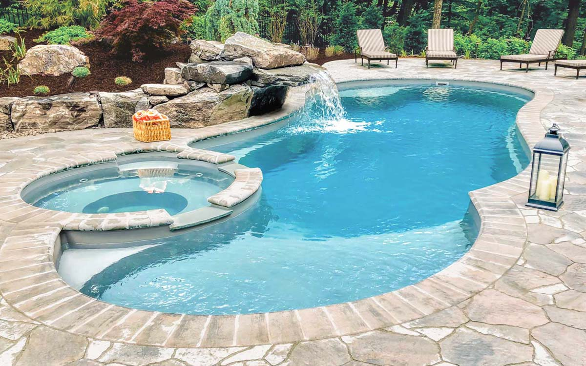 What Is The Best Type Of Swimming Pool For My Home Leisure Pools Canada