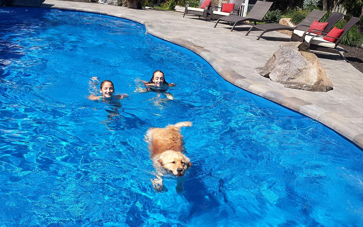 One of the many benefits of owning your own swimming pool